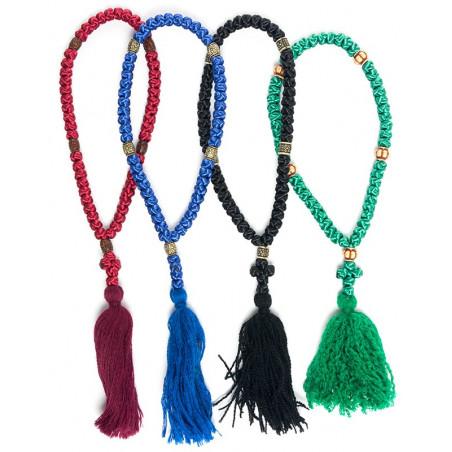 Четки плетеные (сутаж) на 50 узелков. (14700)