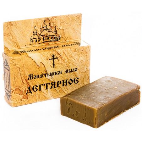 Монастырское мыло «ДЕГТЯРНОЕ»