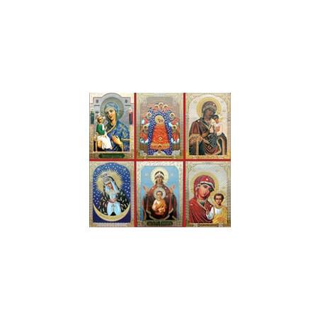 Ламинированные иконы Богородицы