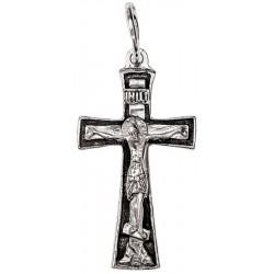 Крестик серебряный нательный (СК-301-1)