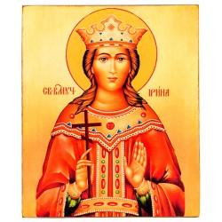 Икона Святая Ирина (15х18)