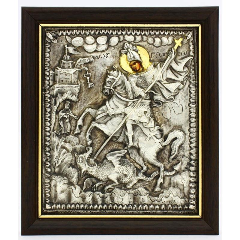Икона Георгий Победоносец (02318)
