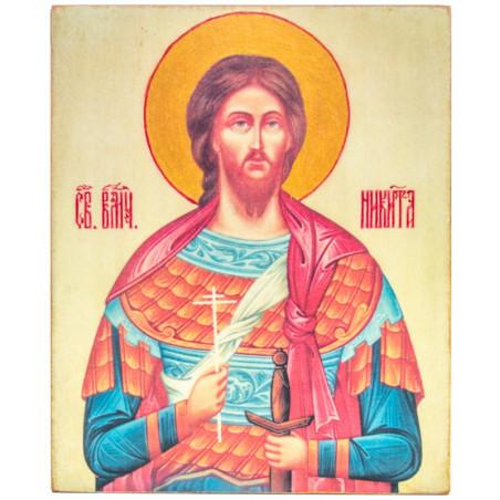 Икона Святой Никита 11х13 см