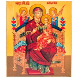 Икона Божией Матери «Всецарица» 11х13 см