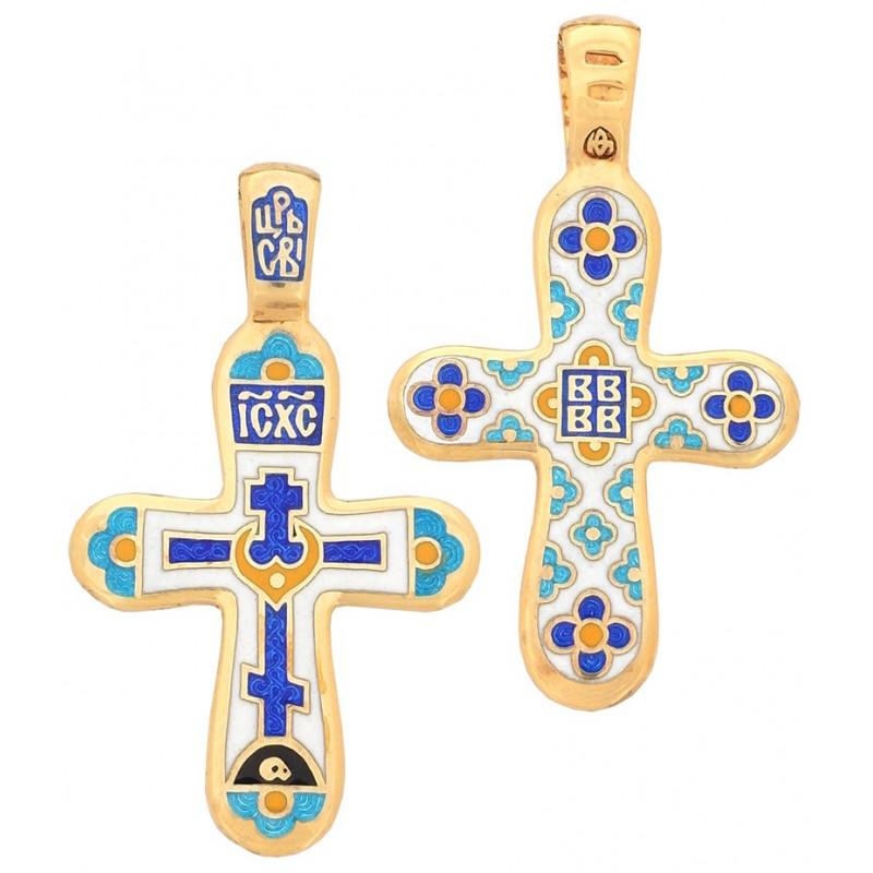Крест эмалевый КС040
