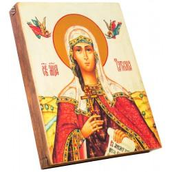 Икона Святая мученица Татьяна 15х18 см