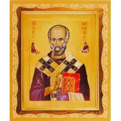Икона Николая Чудотворца (полиграфия)