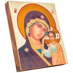 Икона Божией Матери «Казанская» 15х18 см