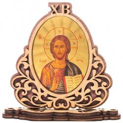 Икона Спаситель «ХВ» 10х10 см