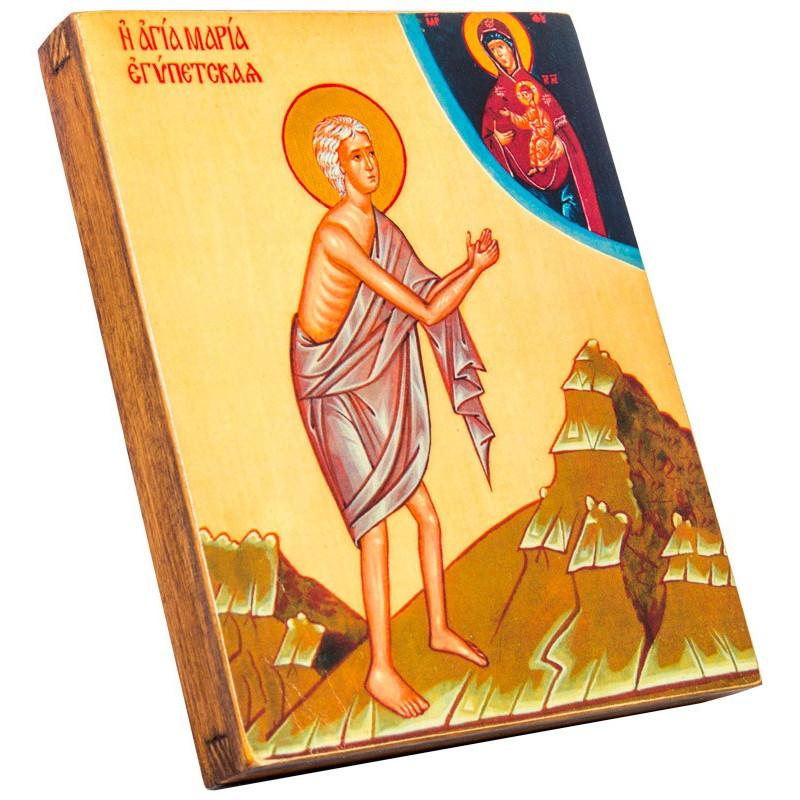 Икона Святая Мария Египетская 15х18 см