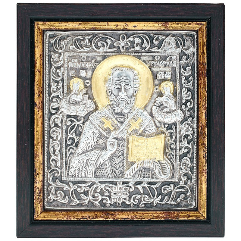 Икона Святой Николай Чудотворец (03385)