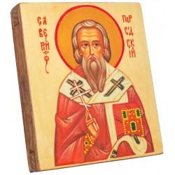 Икона Святой Савелий 11х13 см