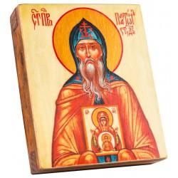 Икона Святой Платон Студийский 11х13 см