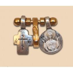 Крест с образом БМ Знамение 661