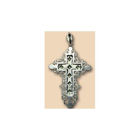 Крестик серебряный 1.4.0048с