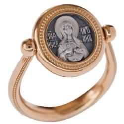 Перстень с иконой «Святая мученица Татиана» ПС 081