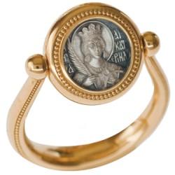 Перстень с иконой «СВЯТАЯ ВЕЛИКОМУЧЕНИЦА ЕКАТЕРИНА» ПС085