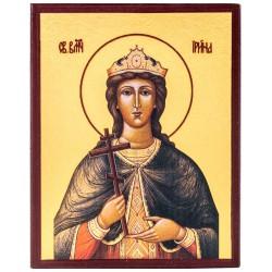 Икона Святая Ирина Македонская 10х12 см