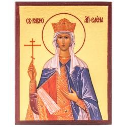 Икона Святая Равноапостольная царица Елена 10х12 см