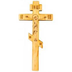 Настенный восьмиконечный деревянный крест
