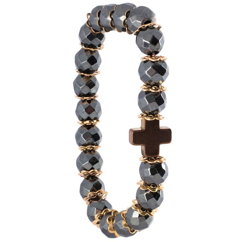 Гематитовый браслет, детский