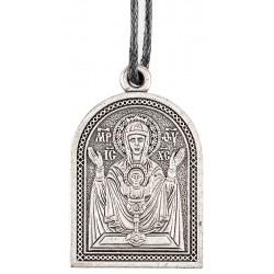 Нательная икона Божией Матери «Неупиваемая Чаша»