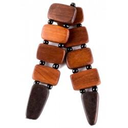 Четки перекидные деревянные на 10