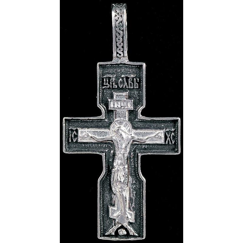 Крестик серебряный СК-1004