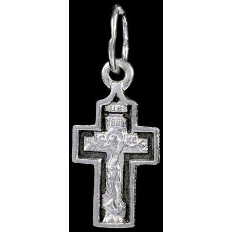 Крестик серебряный СК-374