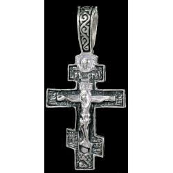 Крестик серебряный СК-862