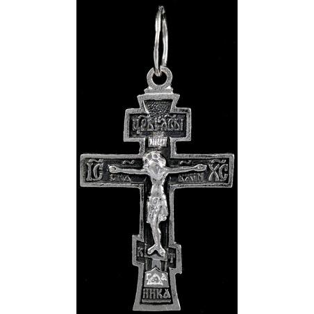 Крестик серебряный СК-921