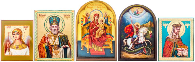 Писаные иконы