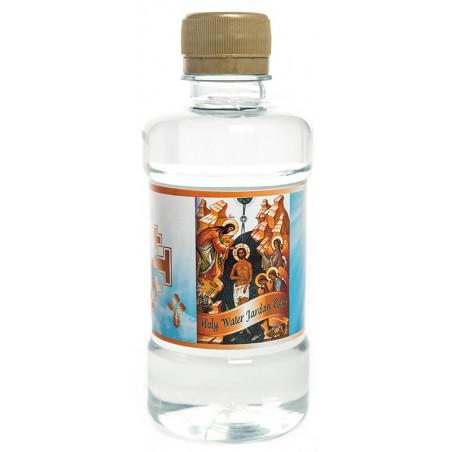 Святая вода из реки Иордан, в бутылочке с иконой. Иерусалим