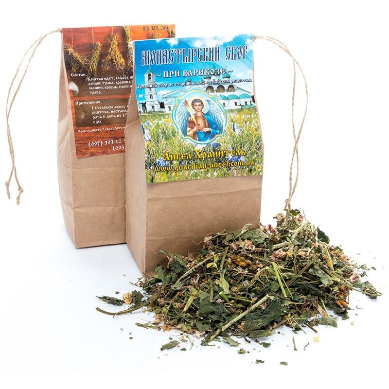 Монастырский чай: При варикозе