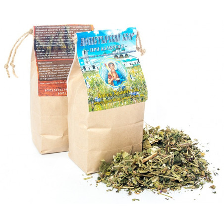 Монастырский чай: При аллергии