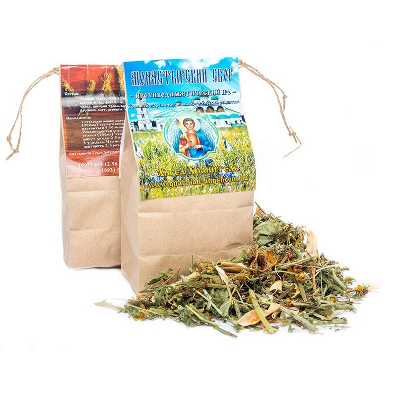 Монастырский чай: Противодиабетический №2