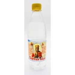 Вода освященная на молебне Николаю Чудотворцу