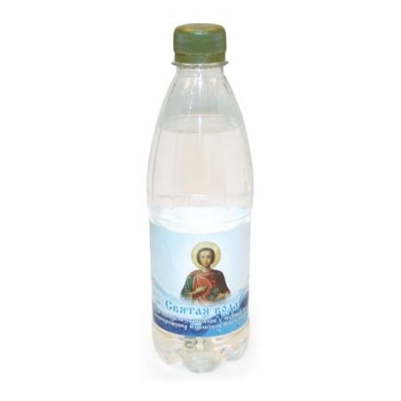 Вода, освященная на молебне...