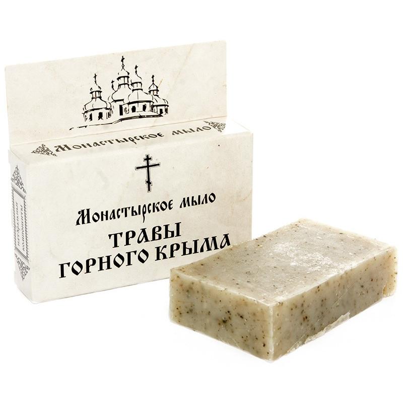 Монастырское мыло «ТРАВЫ ГОРНОГО КРЫМА»