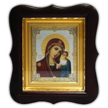Киот под икону на оргалите 11х13