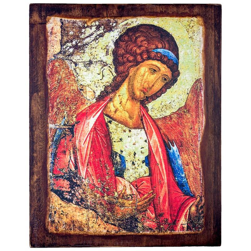 Икона на доске Архангел Михаил 24х30 см