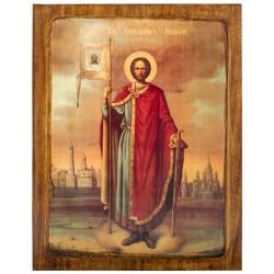 Икона Святой Александр Невский (17352)