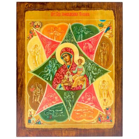Икона Божья Матерь Неопалимая Купина 24х30 см