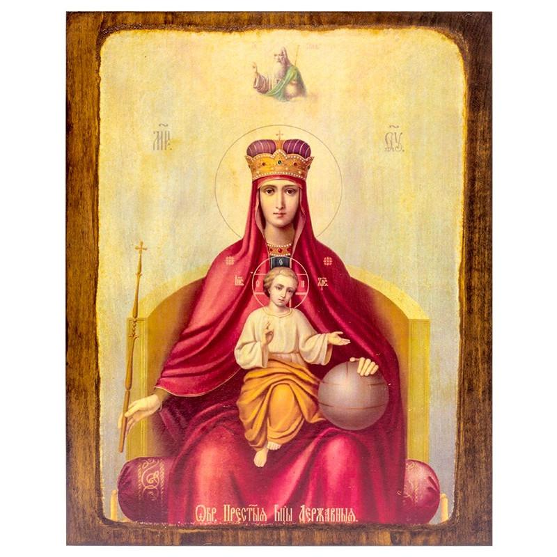 Икона Божья Матерь Державная (17274)