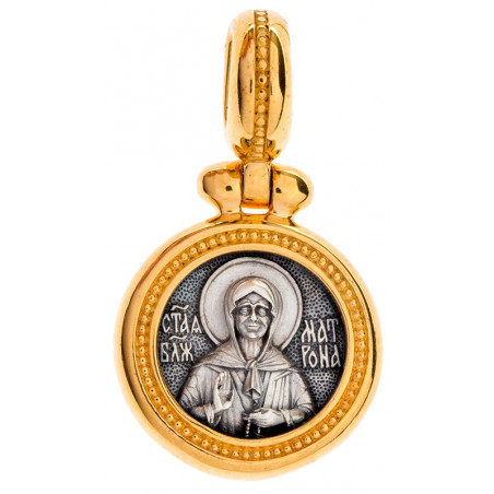 Иконка «СВЯТАЯ БЛАЖЕННАЯ МАТРОНА» КС115