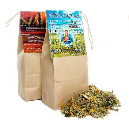Монастырский чай: При пародонтозе (заболевания полости рта)