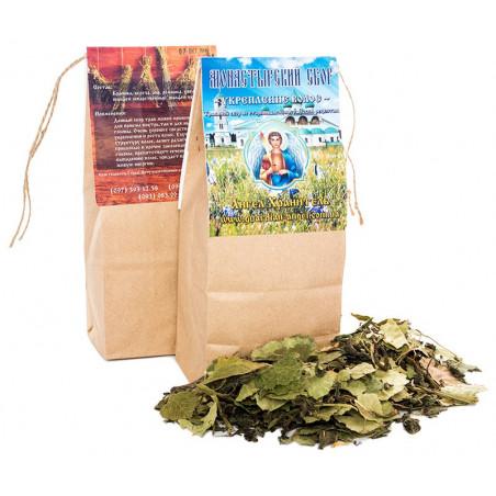 Монастырский чай:  Укрепление волос