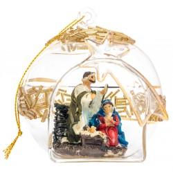 "Игрушка на елку с вертепом ""Рождество Христово"""