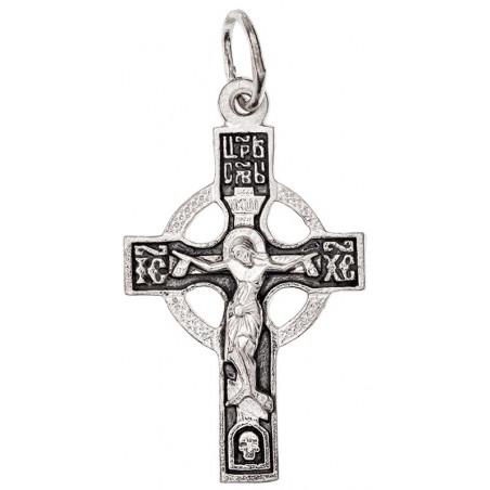 Крестик серебряный СК-422