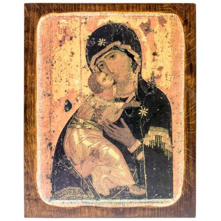 Икона Божией Матери Владимирская (24х30)